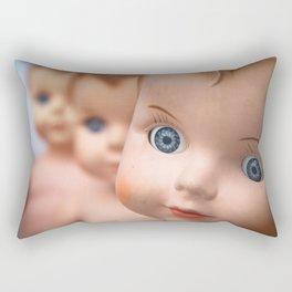 Baby Blue Eyes Rectangular Pillow