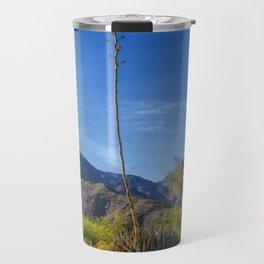 Desert Flowers in the Anza-Borrego Desert State Park, Southern California Travel Mug