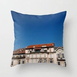 Monaco views Throw Pillow