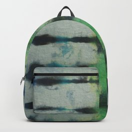 Tie Dye in Blue and Green 3 Backpack