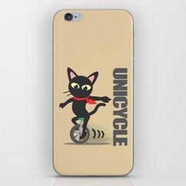 Unicycle iPhone Skin