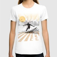 surfer T-shirts featuring surfer by michael cheung
