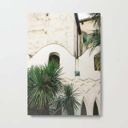 Italian architecture on the Amalfi coast | Travel photography Italy Europe Metal Print