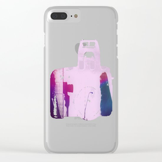 Audio, Video, and Everything in Between Clear iPhone Case