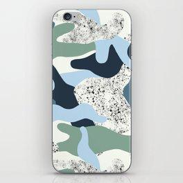 Icy Camo iPhone Skin