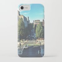 hustle iPhone & iPod Cases featuring Hustle by Out of Line