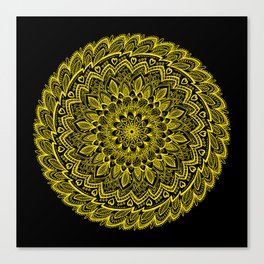 Soothing Sunflower Canvas Print