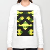 reggae Long Sleeve T-shirts featuring Reggae Fields by Stoian Hitrov - Sto
