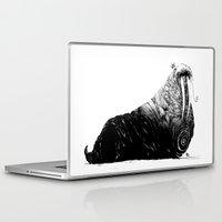 walrus Laptop & iPad Skins featuring Walrus by Ben BASSO