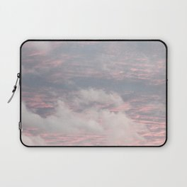 Cloud layers of Pink Laptop Sleeve
