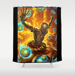 zenyatta Shower Curtain