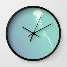 Pulsating Cnidaria. Wall Clock