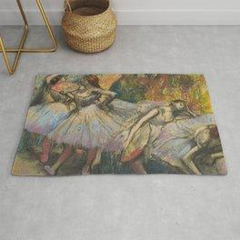 "Edgar Degas ""Dancers"" Rug"