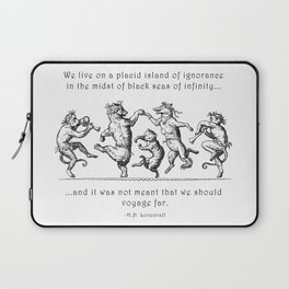 Island of Ignorance Laptop Sleeve
