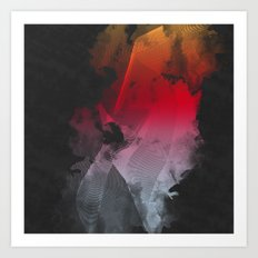 Live in Color Art Print