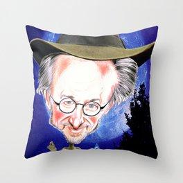 Steven Spielberg Throw Pillow