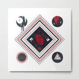 Beat Metal Print