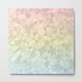 Pastel Ombre 4 Metal Print