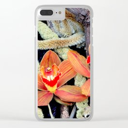 Gone To Seeds Clear iPhone Case
