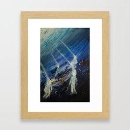 Esoteric Depths Framed Art Print