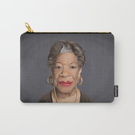 Celebrity Sunday ~ Maya Angelou Carry-All Pouch