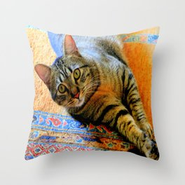 Click, Wha...! Throw Pillow