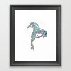 ORIGAMI v4 Framed Art Print