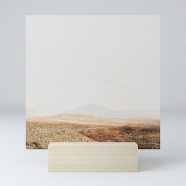 Abstract modern Desert Landscape Photography Mini Art Print