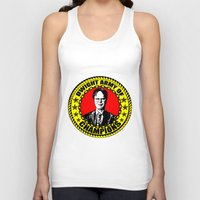 dwight Tank Tops featuring Dwight Schrute (Dwight Army Of Champions) by Silvio Ledbetter