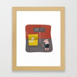 Petrol Prices - The Oil Hool Framed Art Print