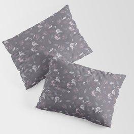 leaf prints dark Pillow Sham