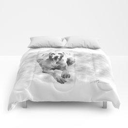 MR TEE THE WEIMARANER Comforters