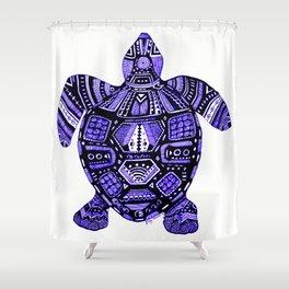 Turtle Energy Shower Curtain
