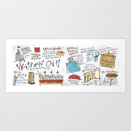 Warren OH! Monumentally Art Print