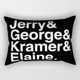 Seinfeld Jetset Rectangular Pillow