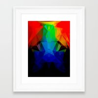 frog Framed Art Prints featuring FROG by ED design for fun