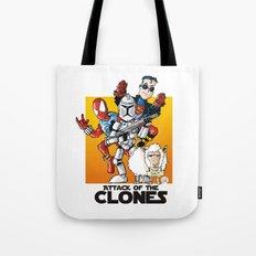 Clones Tote Bag