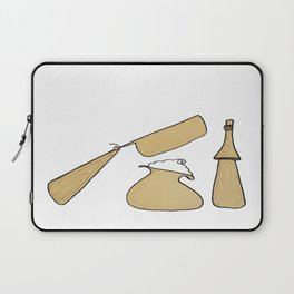 Shave Like A Man Laptop Sleeve