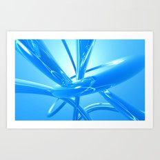 Skyclad Art Print