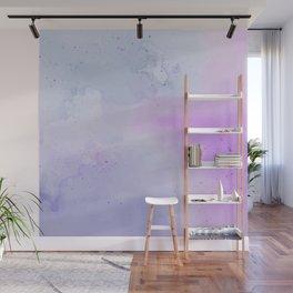 Soft Watercolours - Lavendar Wall Mural
