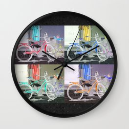 Bicycle Key West Wall Clock