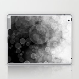 Black and White Spotted3 Laptop & iPad Skin