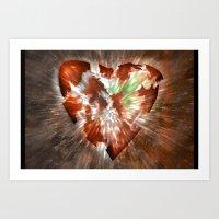K. Heart 2005 Art Print