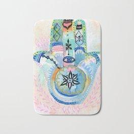 Morocco Hamsa Hand Bath Mat