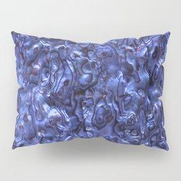 Abalone Shell | Paua Shell | Sea Shells | Patterns in Nature | Dark Blue Tint | Pillow Sham