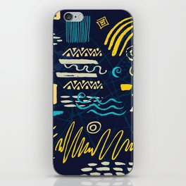 untied features iPhone Skin