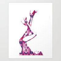 heels Art Prints featuring Heels by fashionistheonlycure
