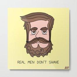 Beard Metal Print