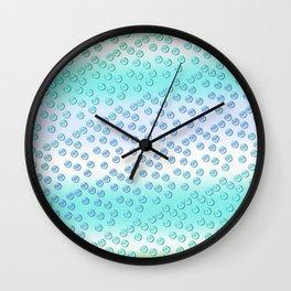 Pastel pattern 2 Wall Clock