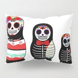 Halloween Russian dolls Pillow Sham